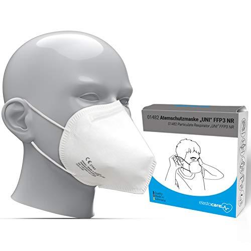 10x FFP3 Atemschutzmaske CE-Zertifiziert Made IN Germany FFP3 Maske Staubschutzmaske Atemmaske Staubmaske 10 Stück verpackt in Aufbewahrungsbox und hygienischen PE-Beutel