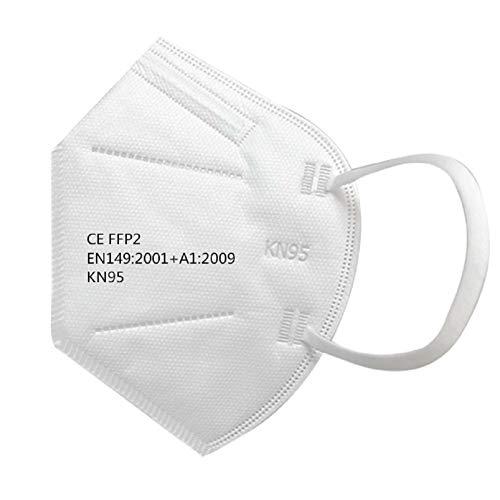 20 FFP2 Atemschutzmaske durch Stelle CE 2163 Zertifiziert und geprüft 5-Lagen hygienische